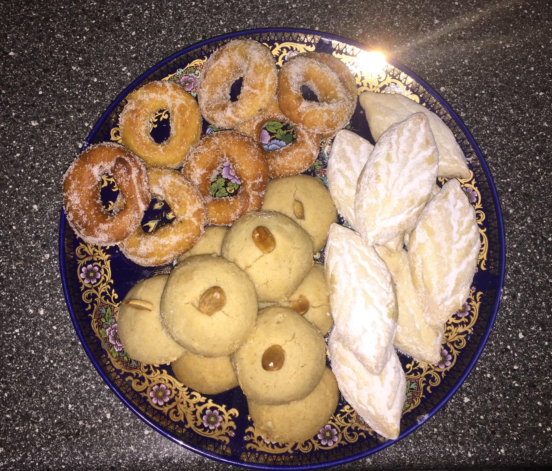 Legribiya (Moroccan Cookie)