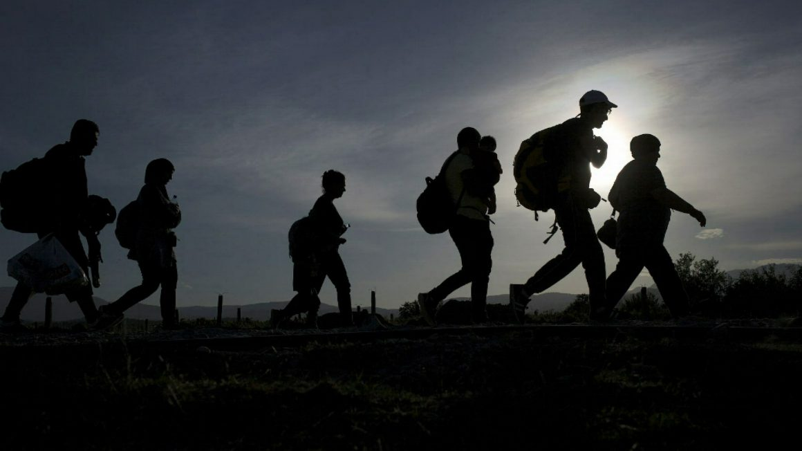 Night of the refugee walk